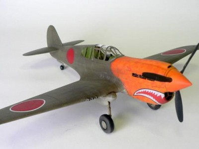 P-40E Capture aircraft in the Philippines - Arii